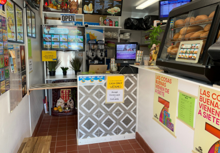 Retail, lottery and money transfer shop for sale on San Bruno Ave