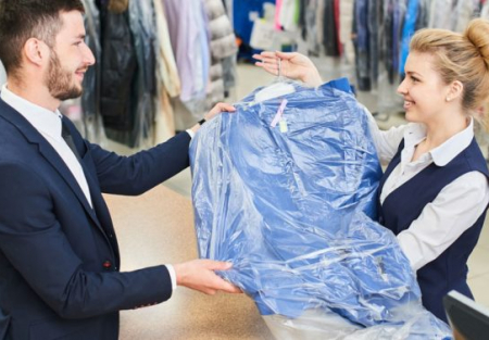 30 years established dry cleaner for sale in SF North Beach