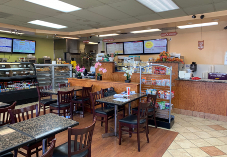 Established Cafe and Bakery in Sunnyvale near high tech companies