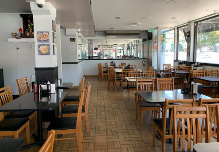 Modern unique Vietnamese restaurant for sale in Oakland Chinatown/Dow