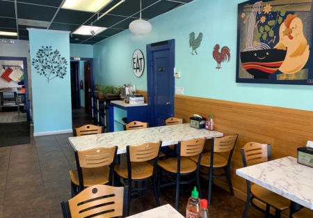 Remodeled Pho restaurant in Downtown Alameda