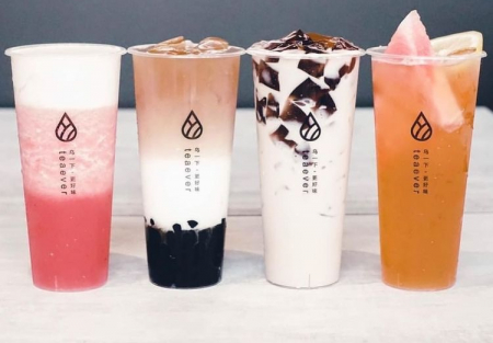 High Volume Branded Boba Tea shop in San Ramon Shopping center