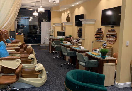 Salon and Spa in upscale Beverly Hills in Los Angeles