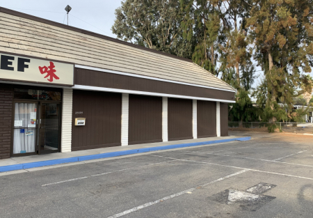 Asian style restaurant on big lot in Santa Clara