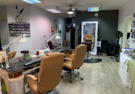 Nail Spa + Massage shop for sale in upscale Montclair
