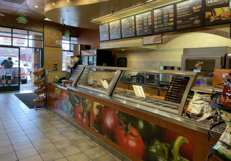 Subway Franchise for sale in Fairfield shopping center