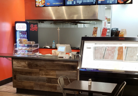American Seafood restaurant with low rent and full kitchen in Gardena