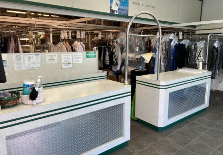 Established Dry cleaner for sale in Benicia shopping center