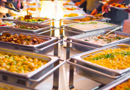 Large Indian restaurant for sale with dedicated parking in Santa Clara