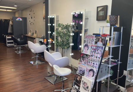 5 stars reviews Hair salon in Oakland Chinatown just before the tunnel