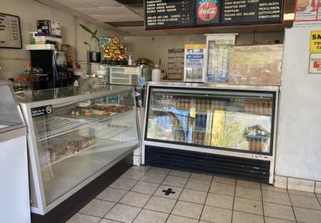 Donut and burger joint for sale in Oakland near West Oakland Bart