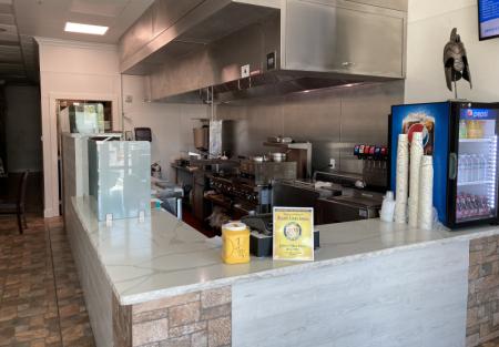 Fantastic Greek restaurant in Brentwood with open kitchen