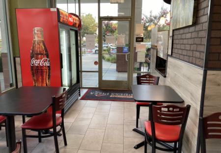 Absentee run Pizza restaurant for sale in Sacramento shopping center